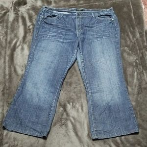 LANE BRYANT HIGH RISE STRAIGHT STRETCH JEANS NEW